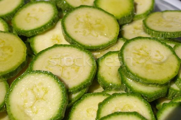 Courgettes zucchini Stock photo © claudiodivizia