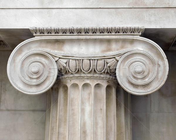 Dettaglio architettonico antica decorato costruzione design retro Foto d'archivio © claudiodivizia