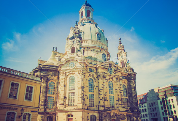 Frauenkirche Dresden Stock photo © claudiodivizia