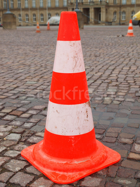 Traffic cone Stock photo © claudiodivizia