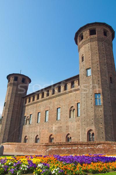 Palazzo Madama, Turin Stock photo © claudiodivizia