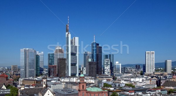 Francfort principale Allemagne Photo stock © claudiodivizia