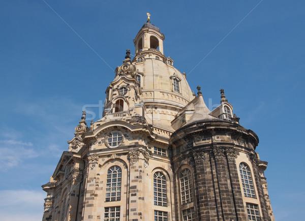 Frauenkirche Dresden Stock photo © claudiodivizia