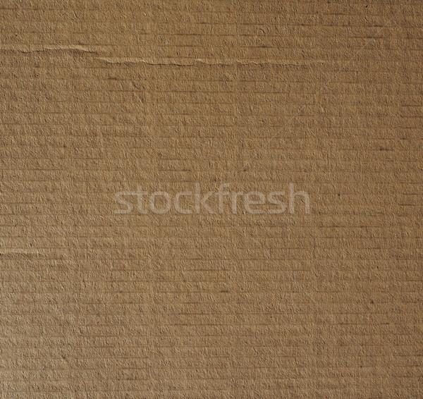 Cartone rosolare utile carta sfondo Foto d'archivio © claudiodivizia
