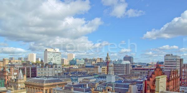 Glasgow città Scozia panorama panorama Foto d'archivio © claudiodivizia