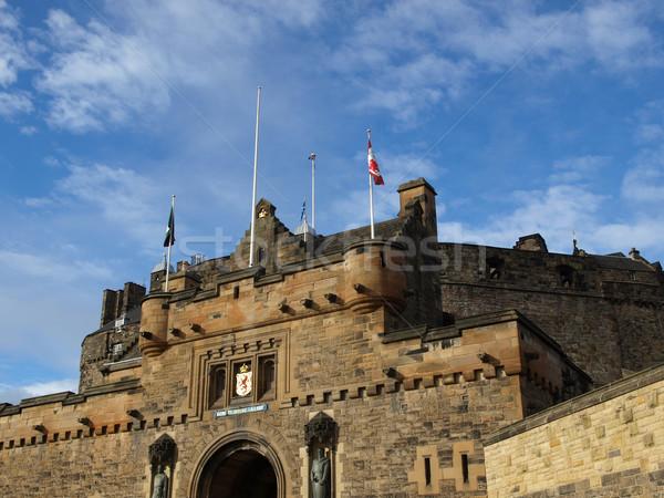 エディンバラ 城 スコットランド グレート·ブリテン イギリス 建設 ストックフォト © claudiodivizia
