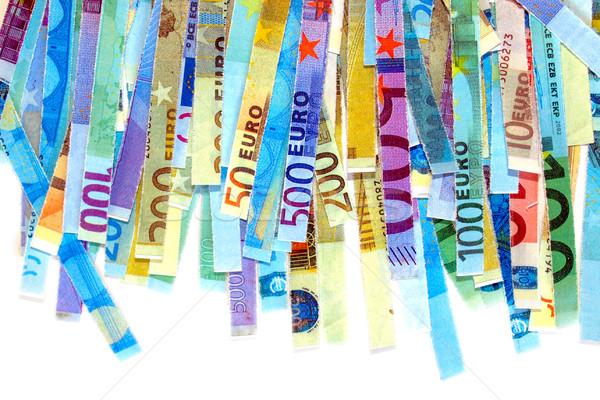 Stock photo: Euro note