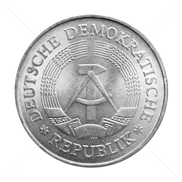 DDR coin Stock photo © claudiodivizia
