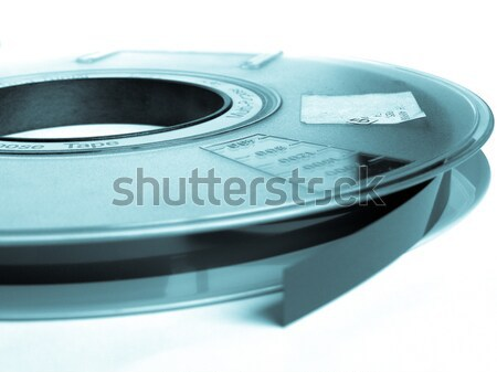 Tape magnetisch computer gegevensopslag cool Stockfoto © claudiodivizia