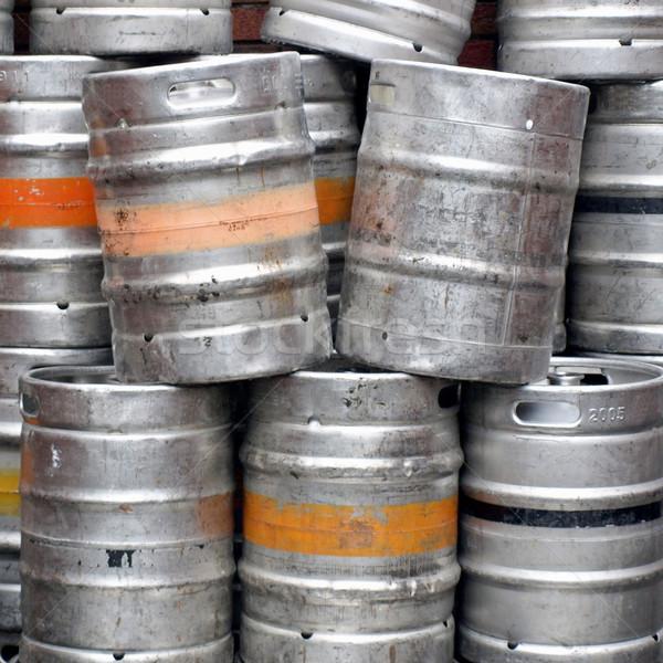Stock photo: Beer cask