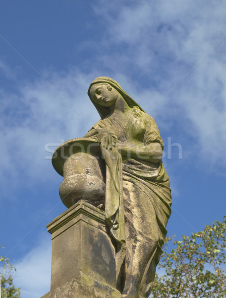 Glasgow cemetery Stock photo © claudiodivizia
