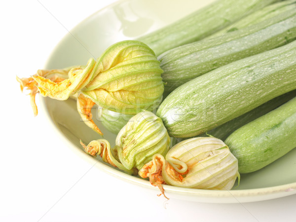 Courgettes zucchini Stock photo © claudiodivizia