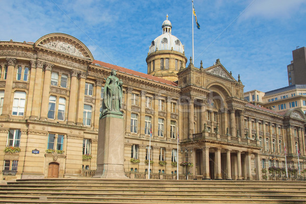 Victoria Square, Birmingham Stock photo © claudiodivizia