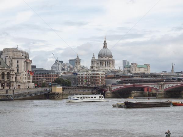 River Thames in London Stock photo © claudiodivizia