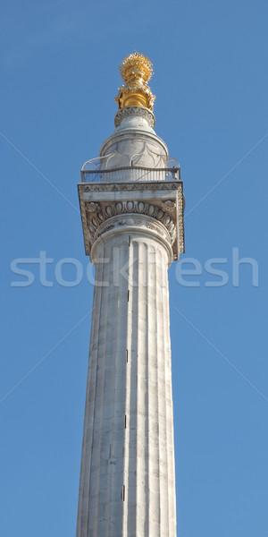 The Monument, London Stock photo © claudiodivizia