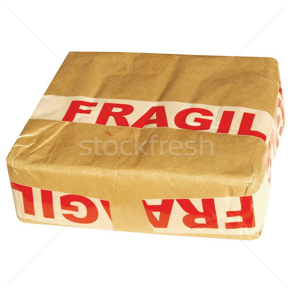 Fragile packet Stock photo © claudiodivizia