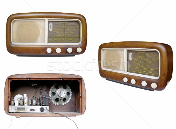 Old AM radio tuner Stock photo © claudiodivizia