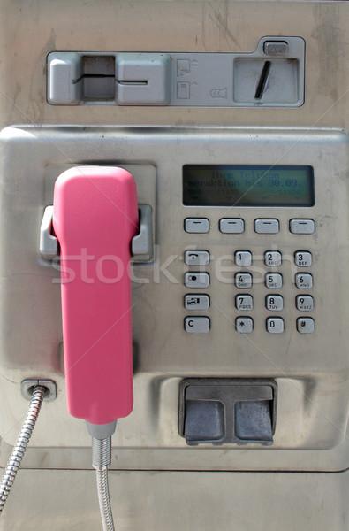 Telefon detay kamu telefon Stok fotoğraf © claudiodivizia