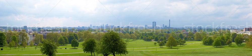 Londres panorama alto dinâmico alcance Foto stock © claudiodivizia