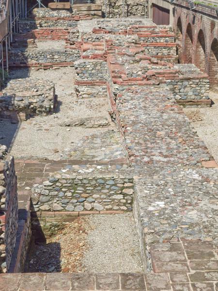 Photo stock: Romaine · théâtre · ruines · anciens · Italie