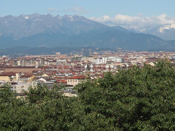 İtalya görmek şehir ufuk çizgisi Stok fotoğraf © claudiodivizia