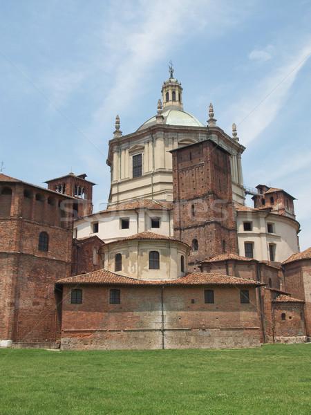教会 ミラノ バシリカ イタリア ヨーロッパ 宗教 ストックフォト © claudiodivizia