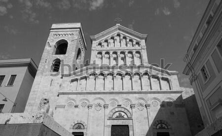 サンタクロース 教会 ミラノ イタリア アーキテクチャ ヴィンテージ ストックフォト © claudiodivizia