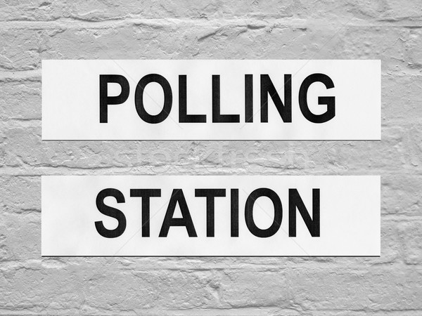 Polling station Stock photo © claudiodivizia
