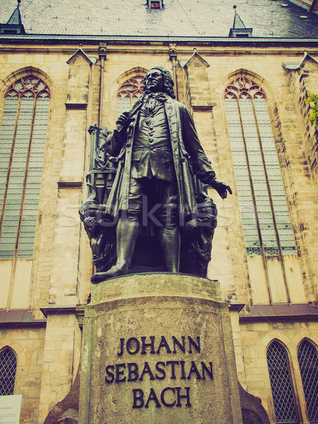 Stock photo: Neues Bach Denkmal