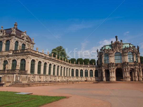 Dresden Zwinger Stock photo © claudiodivizia