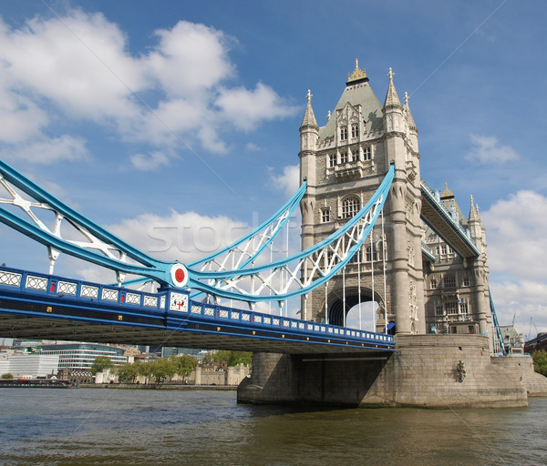 Tower Bridge Londres rio europa torre Foto stock © claudiodivizia