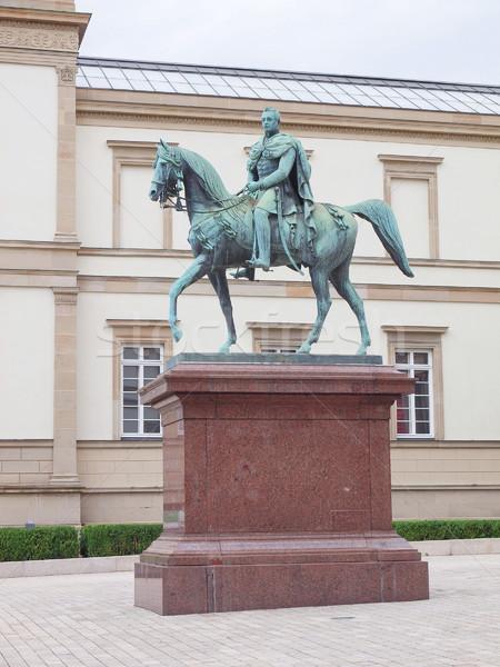 Standbeeld keizer koning Duitsland Stockfoto © claudiodivizia