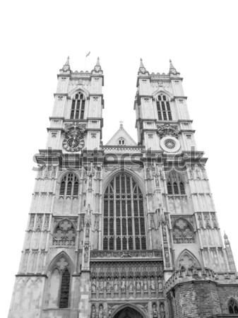 Вестминстерский аббатство Церкви Лондон Vintage религии Сток-фото © claudiodivizia