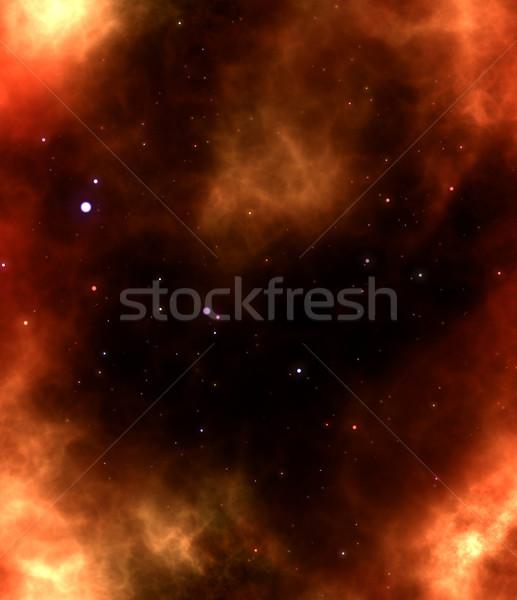 Сток-фото: туманность · газ · облаке · глубокий · космическое · пространство · ярко