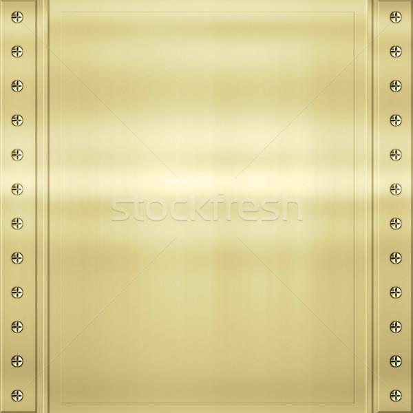 Altın metal doku muhteşem parlak görüntü doku Stok fotoğraf © clearviewstock