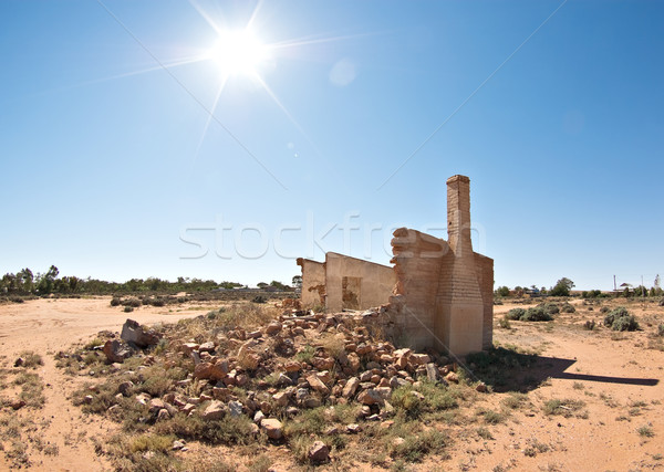 old ruins in the sun Stock photo © clearviewstock