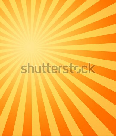 Stock photo: hot sun