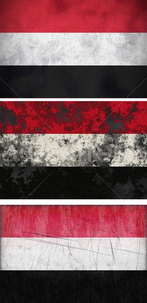Flag of Yemen Stock photo © clearviewstock