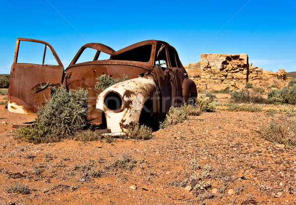 old rusty car Stock photo © clearviewstock