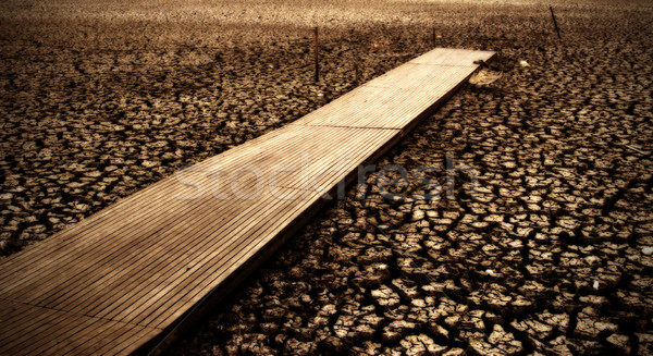 dry lake wendouree Stock photo © clearviewstock
