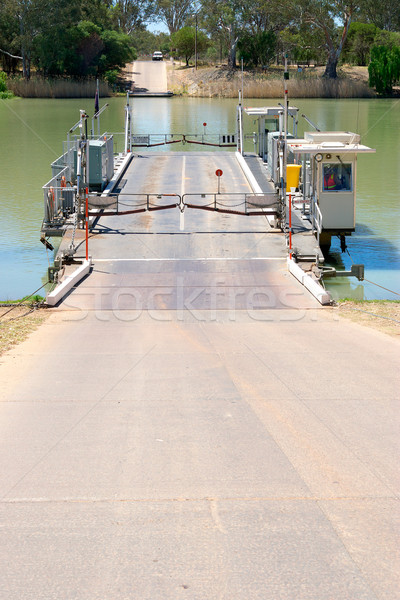 river ferry Stock photo © clearviewstock
