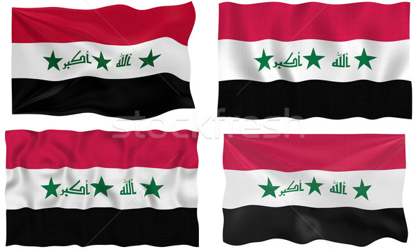 Flag of Iraq Stock photo © clearviewstock