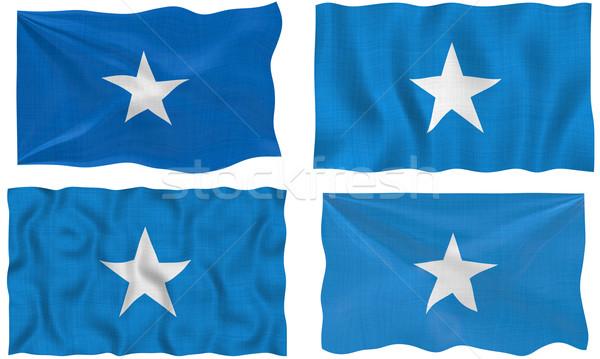 Banderą Somali obraz Zdjęcia stock © clearviewstock
