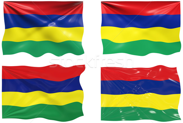 Flag of Mauritius Stock photo © clearviewstock