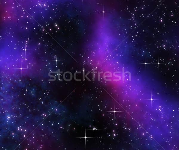 Głęboko przestrzeń kosmiczna obraz gwiazdki projektu Zdjęcia stock © clearviewstock