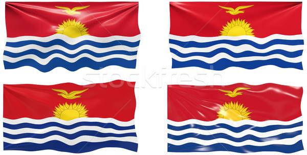 Сток-фото: флаг · Кирибати · изображение