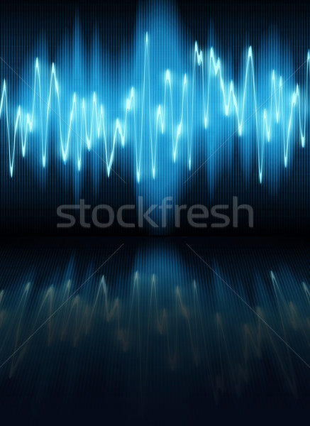 Onde sonore sonores vagues design technologie radio Photo stock © clearviewstock