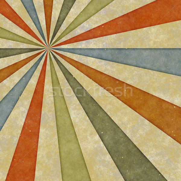 Sessanta stile turbinio presto settanta Foto d'archivio © clearviewstock