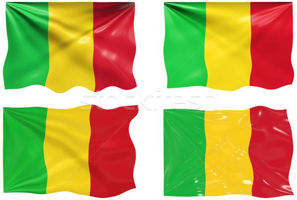 Banderą Mali obraz Zdjęcia stock © clearviewstock