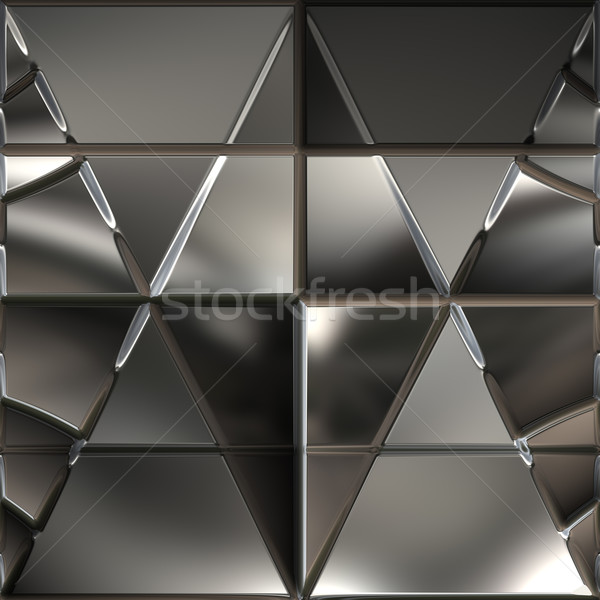 geometric metal background Stock photo © clearviewstock